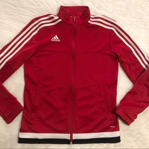 ADIDAS Red Jacket Women's